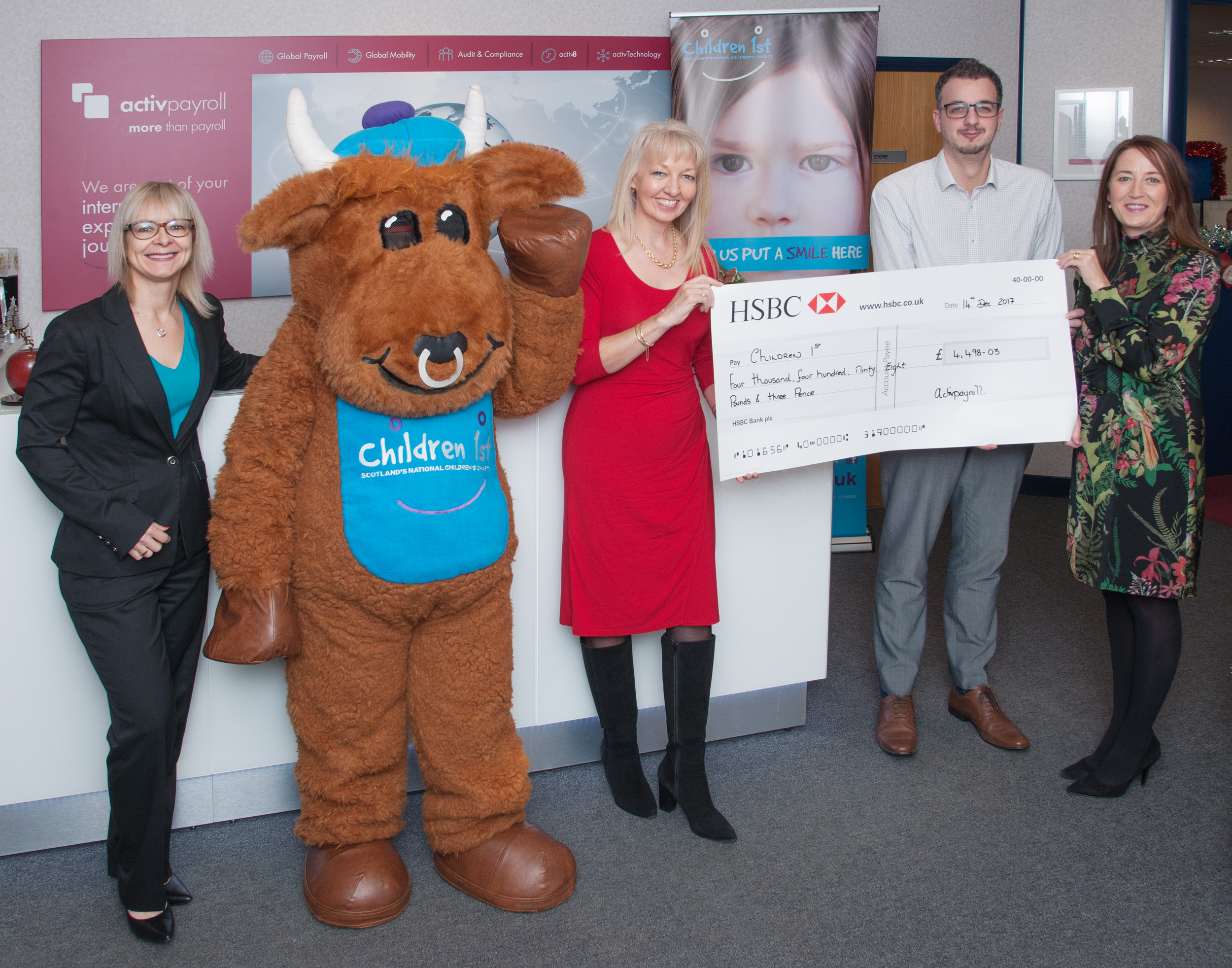 activpayroll Celebrates Charity Success