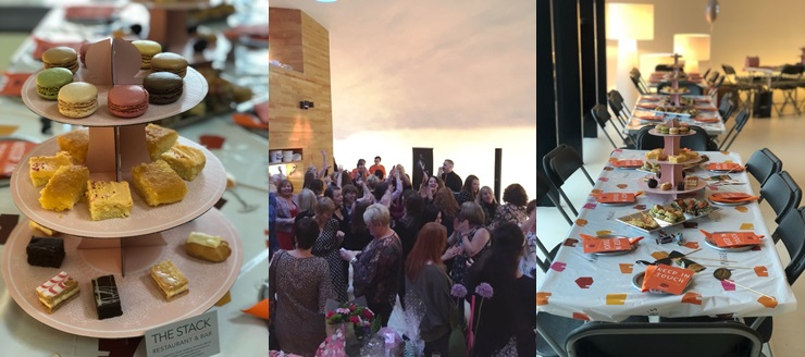 activpayroll Celebrates Success at First Maggie's Fizz Afternoon