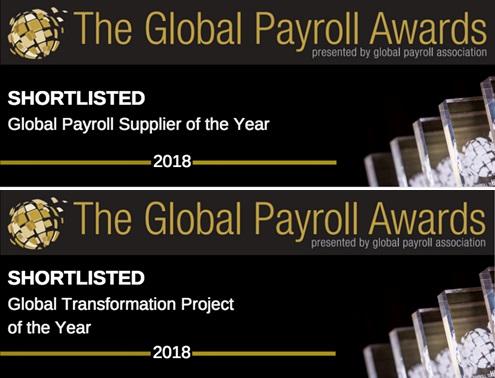 activpayroll shortlisted for Global Payroll Awards 2018