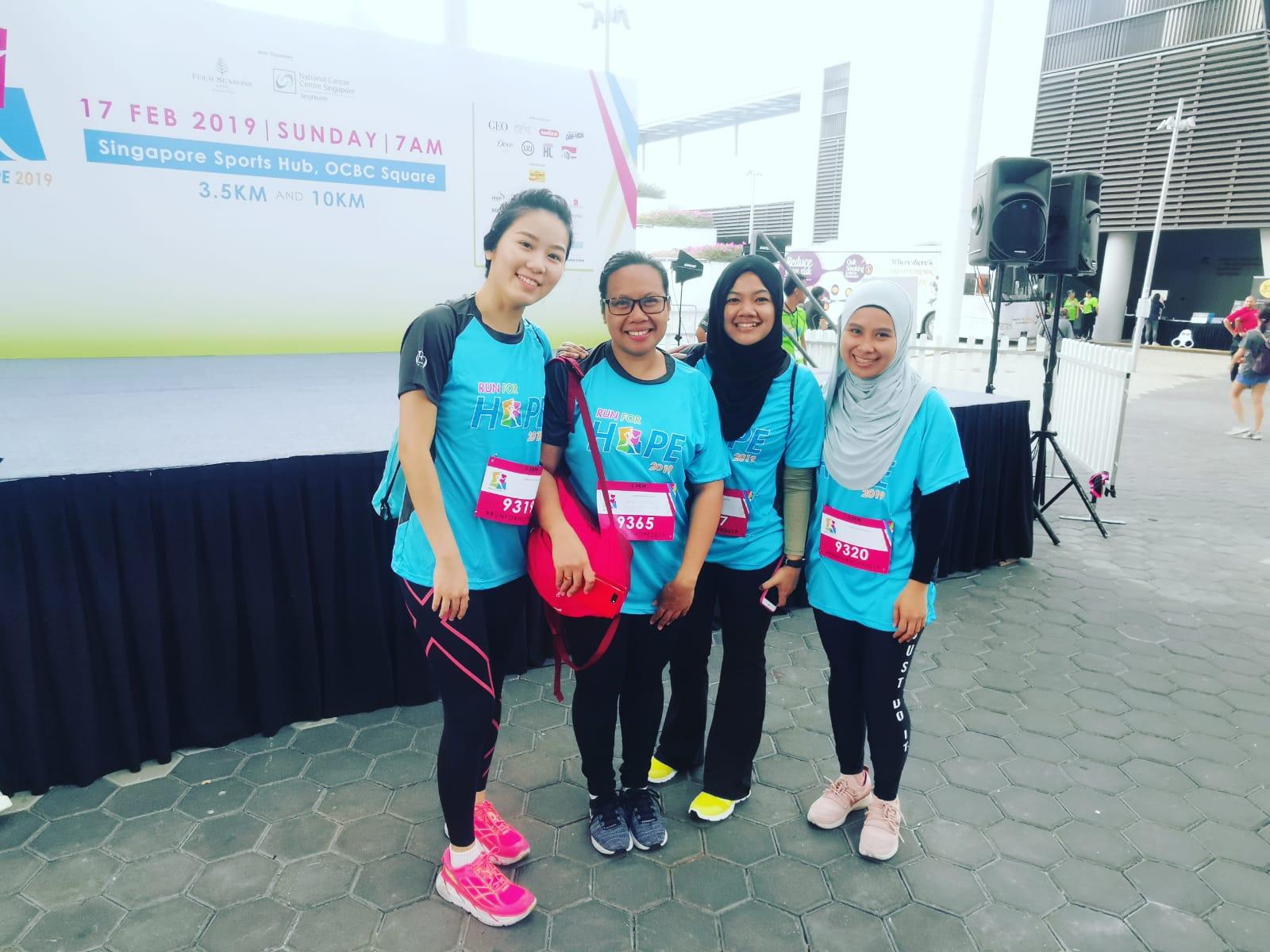 activpayroll Singapore Run for Hope