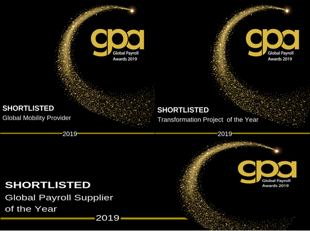 Triple Award Nomination for activpayroll